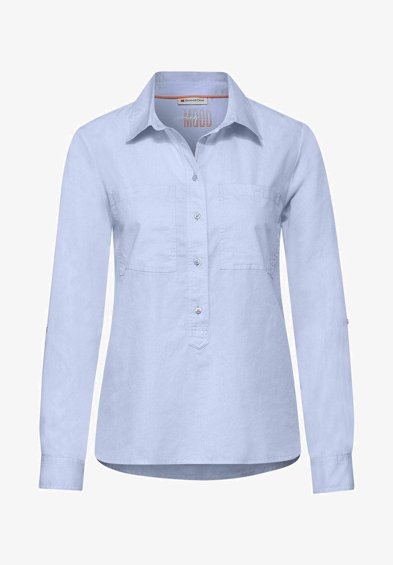 Street One - Long sleeved top - blau