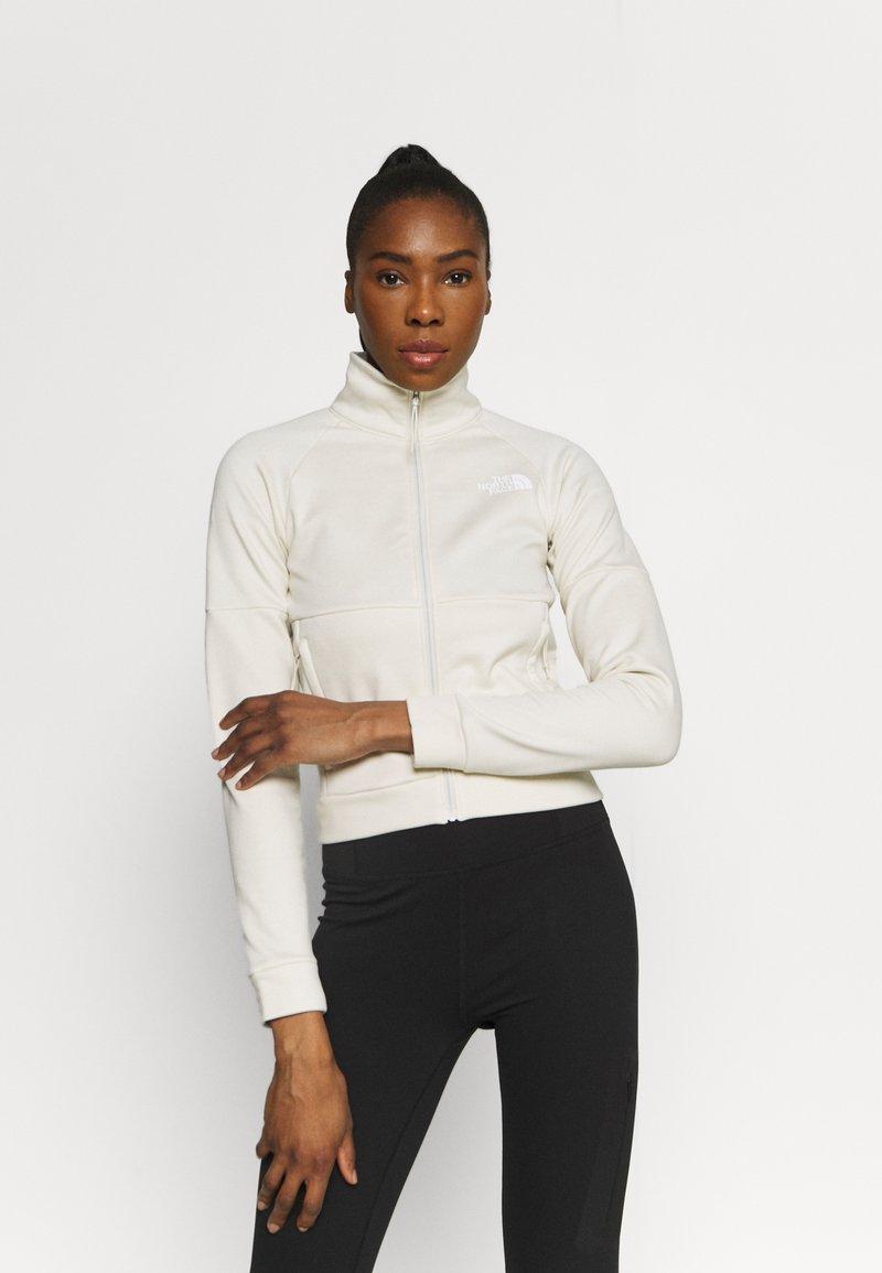The North Face - FULL ZIP JACKET - Fleece jacket - vintage white heather