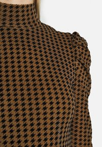 Fashion Union - TISHOW - Long sleeved top - pecan houndstooth - 6