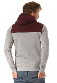 Lakeville Mountain - Hoodie - red/grey - 0