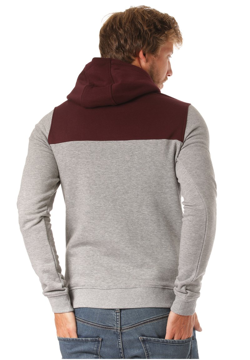 Lakeville Mountain - Hoodie - red/grey