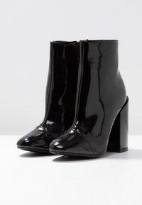 RAID - DOLLEY - Ankelboots med høye hæler - black - 4