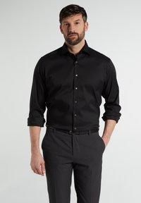 Eterna - MODERN FIT - Shirt - schwarz - 0