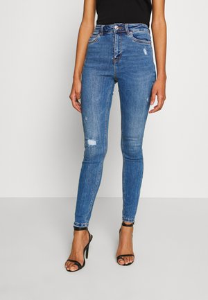 ONLMILA LIFE - Jeansy Skinny Fit - medium blue denim