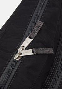 anello - SHOULDER BAG UNISEX - Across body bag - black - 3