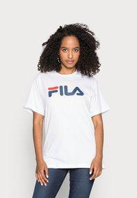 Fila - PURE - T-shirt print - bright white - 0
