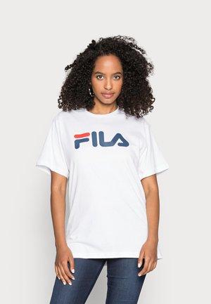 PURE - Print T-shirt - bright white