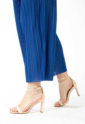CORY - High heeled sandals - nude