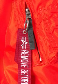 Alpha Industries - Bomber Jacket - atomic red - 6