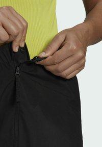 adidas Performance - W MT RAIN PANT - Bukse - black - 4