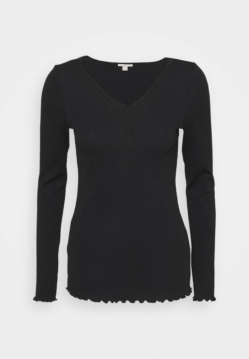 edc by Esprit - T-shirt à manches longues - black