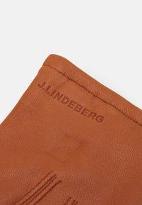 J.LINDEBERG - MILO GLOVE - Gloves - cognac - 2
