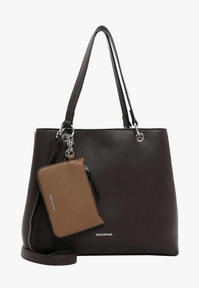 Handtas - brown/taupe 209