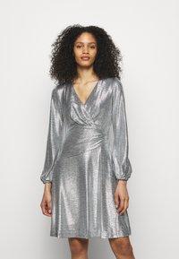 Lauren Ralph Lauren - DRESS - Cocktail dress / Party dress - dark grey/silver - 0