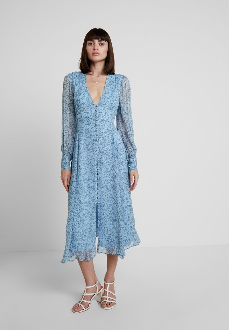 Ghost - ADORLEE DRESS - Shirt dress - blue