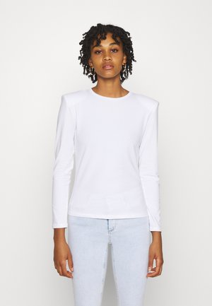 ONLTANJA LIFE O NECK - Long sleeved top - bright white