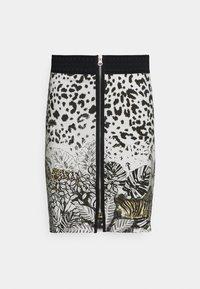 Desigual - TOUCHÉ - Pencil skirt - white - 4