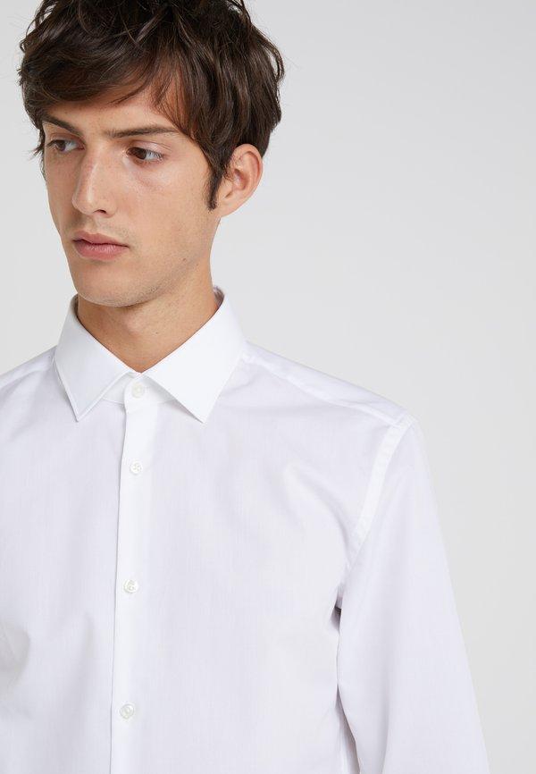 HUGO JENNO SLIM FIT - Koszula biznesowa - open white/biały Odzież Męska KUBY
