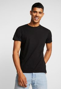 Jack & Jones - JORBASIC CREW NECK 5 PACK  - T-shirt basique - black - 2