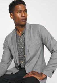Abercrombie & Fitch - Blazer jacket - grey - 3