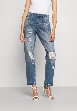 DISTRESSD - Straight leg jeans - auth blue