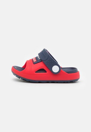 UNISEX - Mules - red/blue
