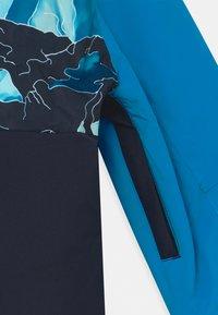 Quiksilver - SIDE HIT UNISEX - Snowboardová bunda - brilliant blue - 4