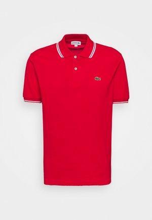 Koszulka polo - rouge/blanc