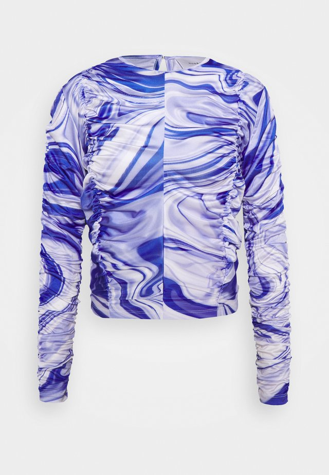ASTA LONG SLEEVE - Maglietta a manica lunga - purple liquid