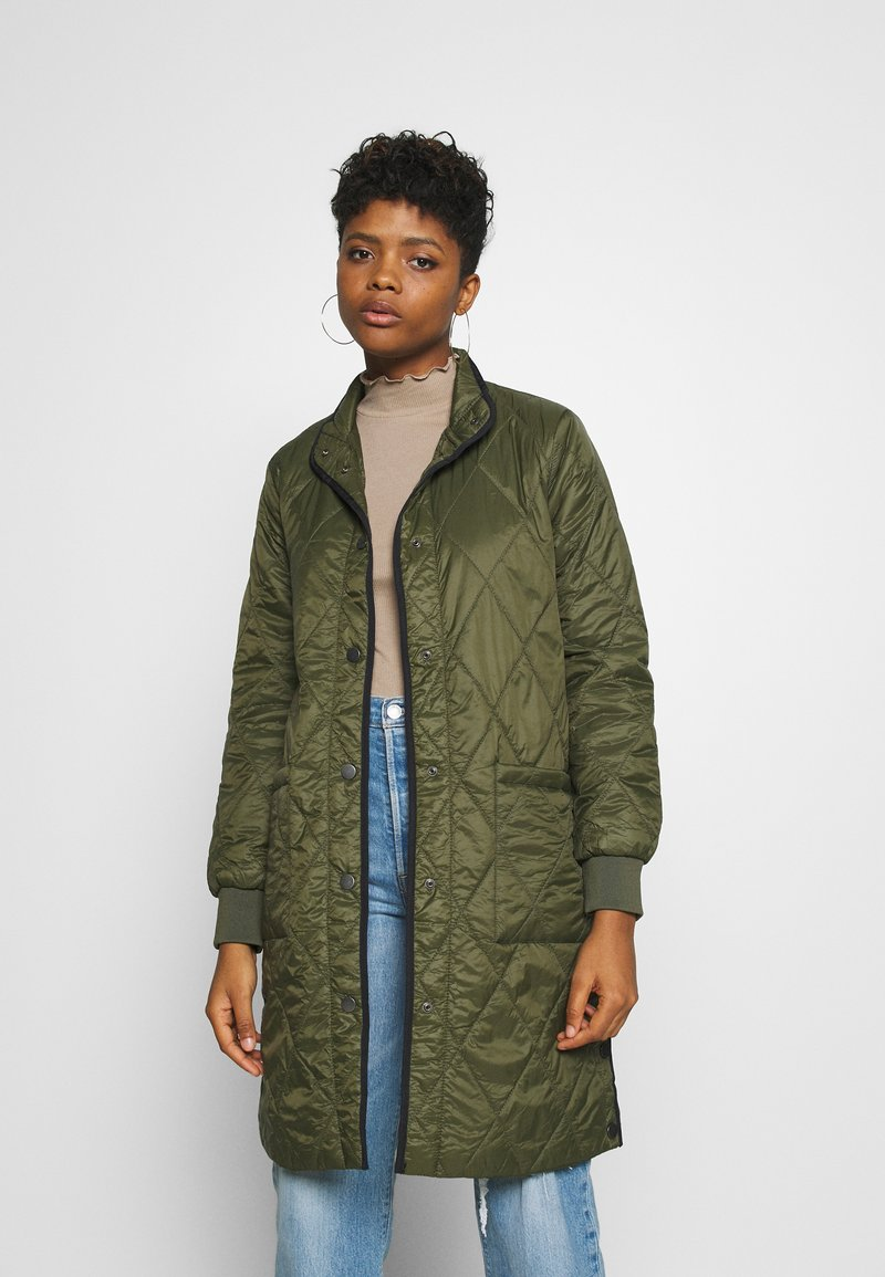 b.young - BYCATJA COAT  - Classic coat - olive night