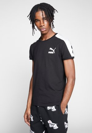 ICONIC - T-shirt med print - puma black