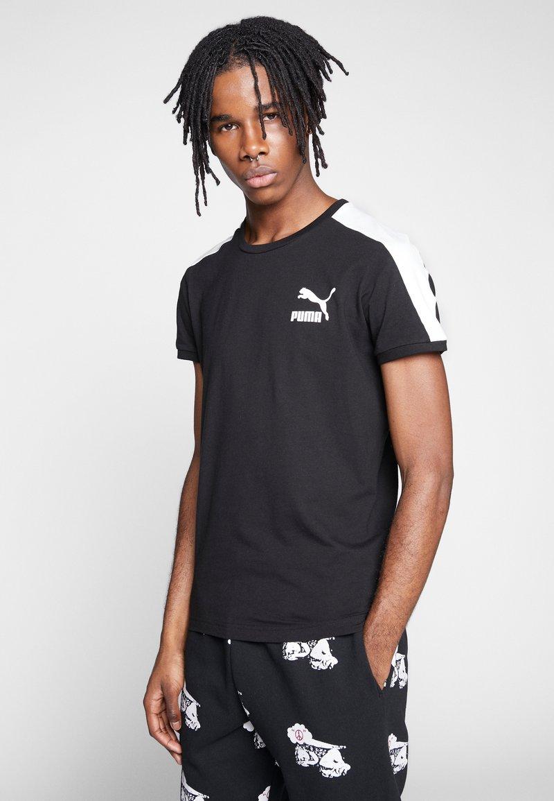 Puma - ICONIC - Print T-shirt - puma black