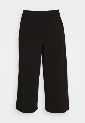OBJCECILIE NEW CULOTTE PANTS - Pantalones - black