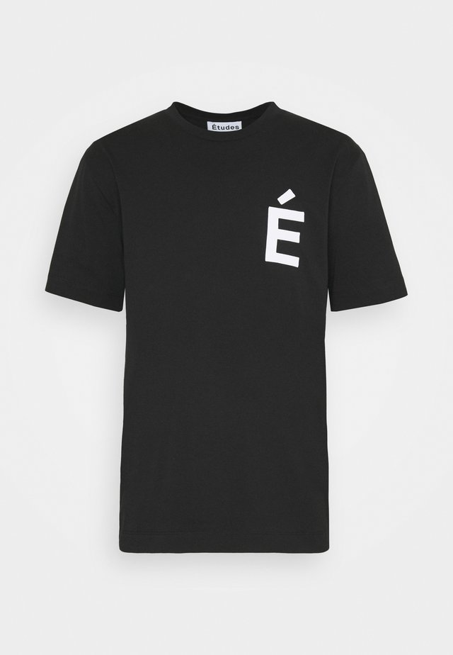 PATCH  - T-shirts med print - black
