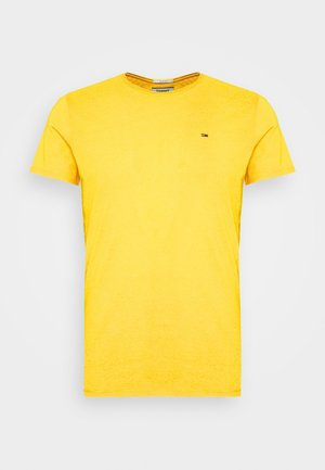ESSENTIAL JASPE TEE - Jednoduché triko - star fruit yellow