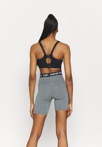 Nike Performance - ALPHA BRA - Sport-BH med mycket stöd - black/dk smoke grey - 2