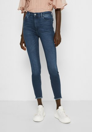 FARROW HIGH RISE INSTASCULPT ANKLE - Jeans Skinny Fit - eco dark