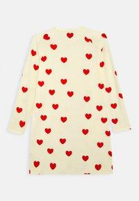 Mini Rodini - HEARTS DRESS - Jersey dress - off white - 1