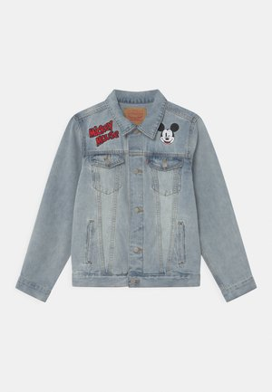 MICKEY MOUSE TRUCKER UNISEX - Veste en jean - light-blue denim
