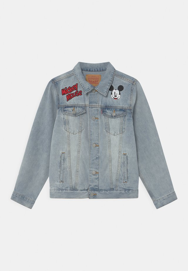 MICKEY MOUSE TRUCKER UNISEX - Giacca di jeans - light-blue denim