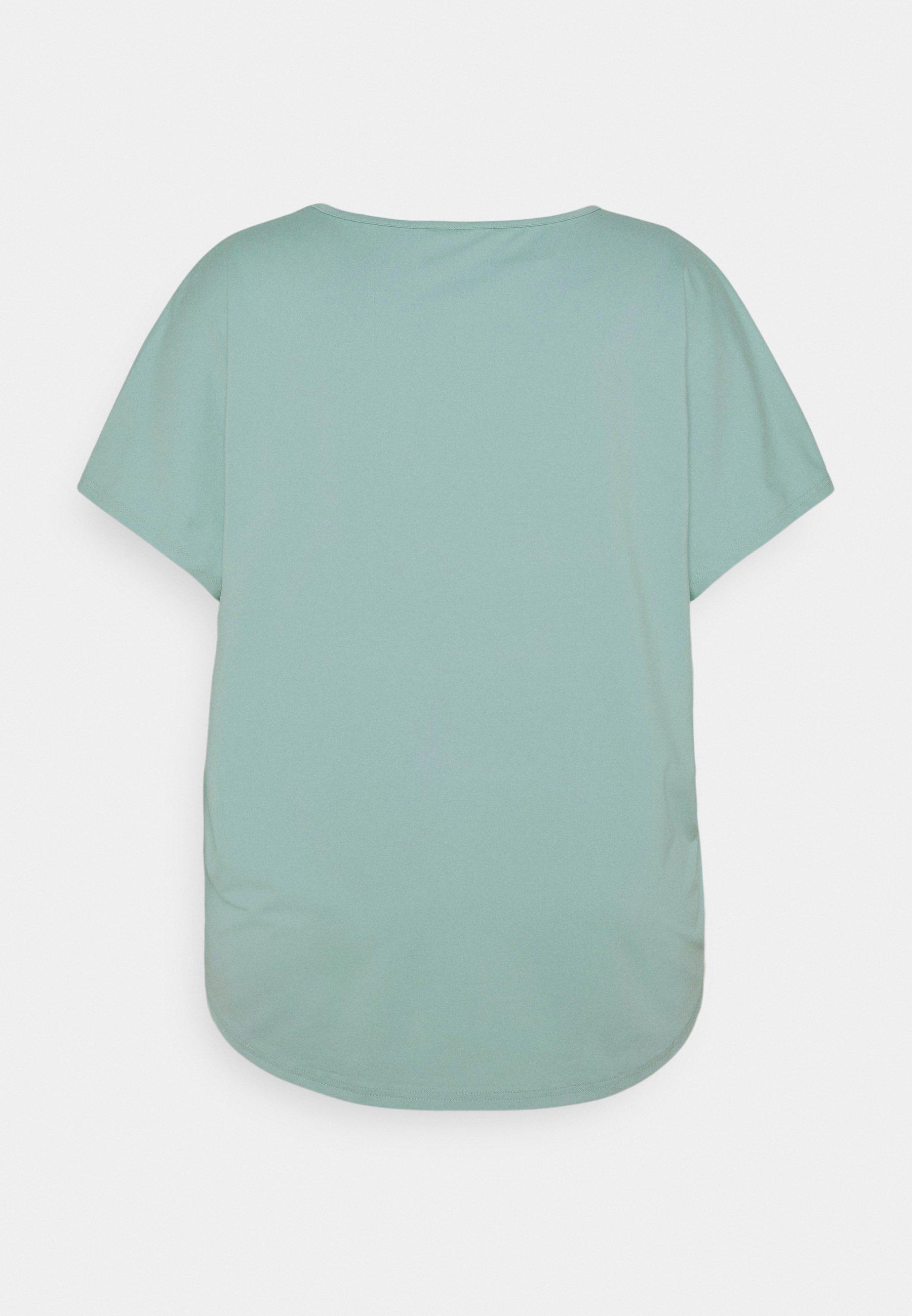 Women ONPFUDIE LOOSE TRAIN TEE  - Basic T-shirt