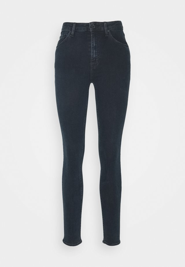 SHELLY - Jeans Skinny Fit - blue-black denim