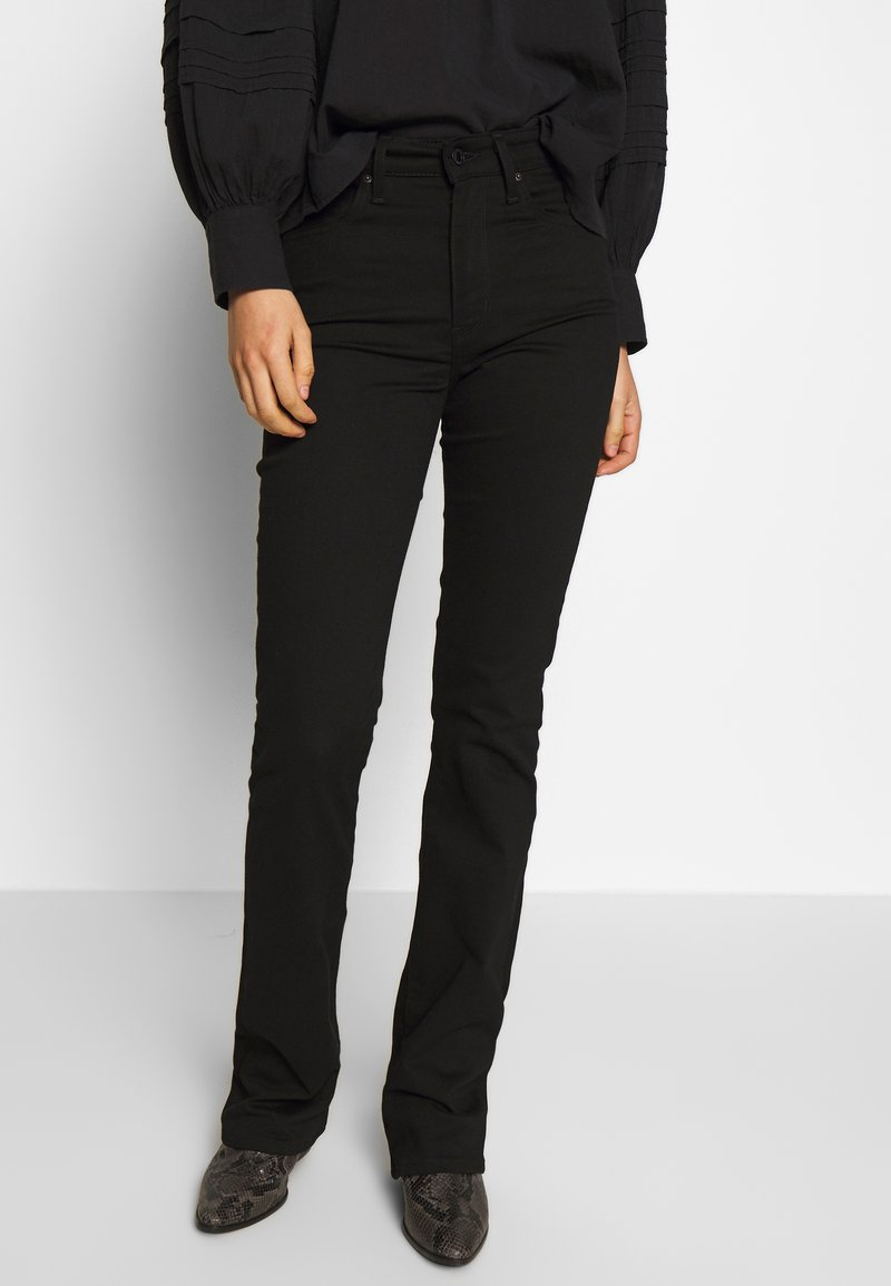 Levi's® - 725 HIGH RISE BOOTCUT - Jeansy Bootcut - black sheep