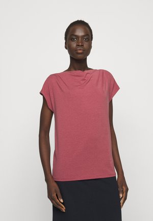 MULTID - Basic T-shirt - dunkelmauve
