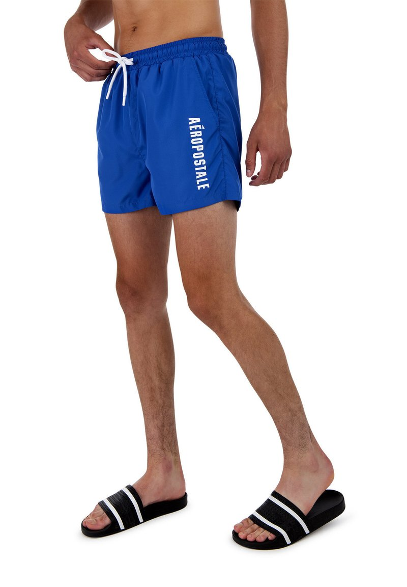 AÉROPOSTALE - Swimming shorts - blue