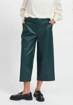 CROPPED - Pantalones - darkest spruce