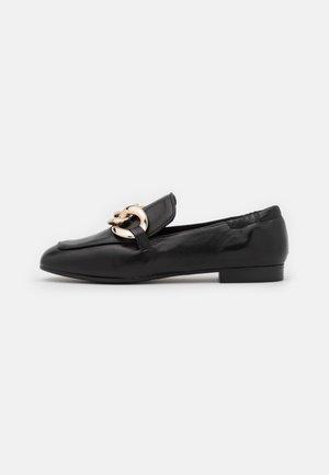 Nazouvací boty - black/gold