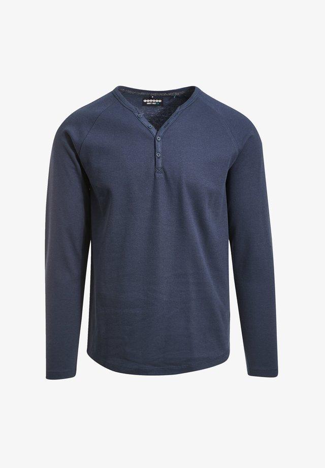 Long sleeved top - bleu marine