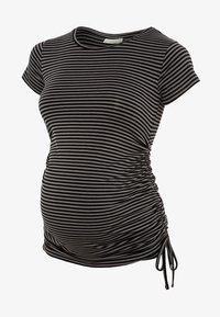 black grey stripe