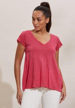 CAROLE - Print T-shirt - pink fudge